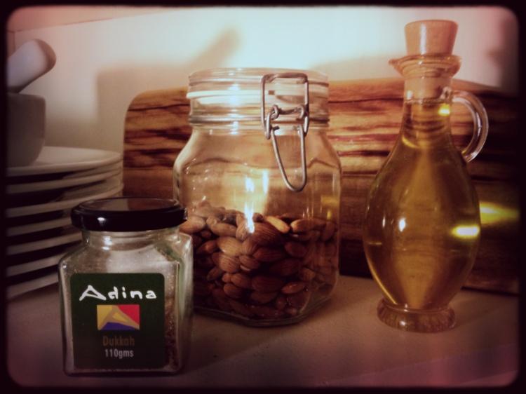 Adina Olive Oil and Dukkah