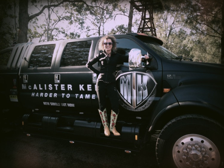 Big Biodiesel Ute - and THOSE boots