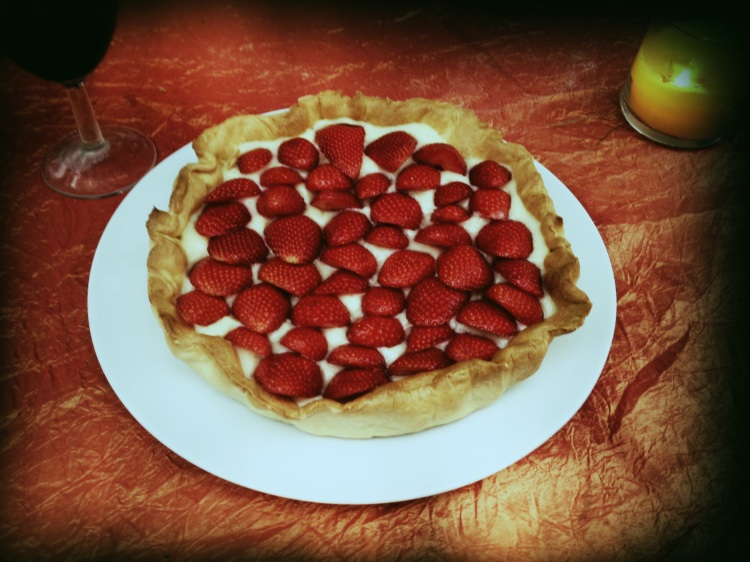 Claires' Strawberry Tart