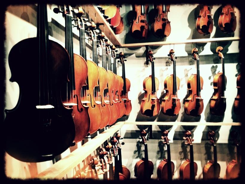 The Magnificent Violin Shop