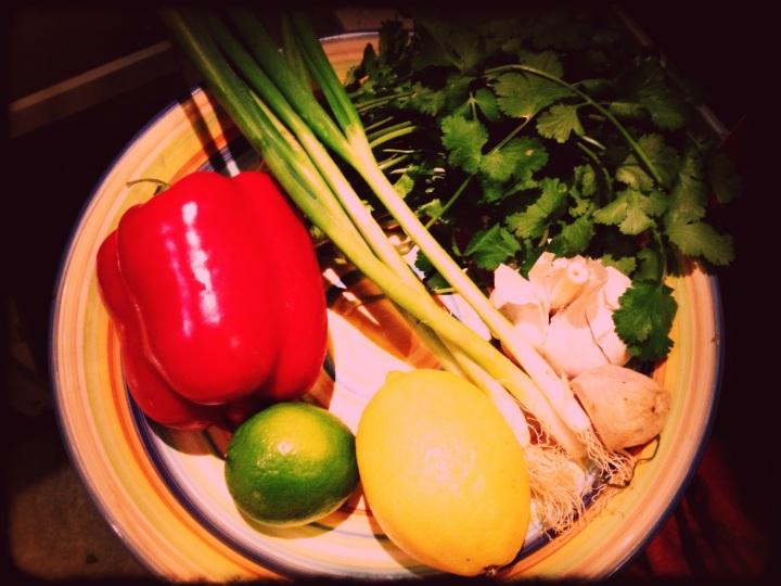 Snapper Marinade Ingredients