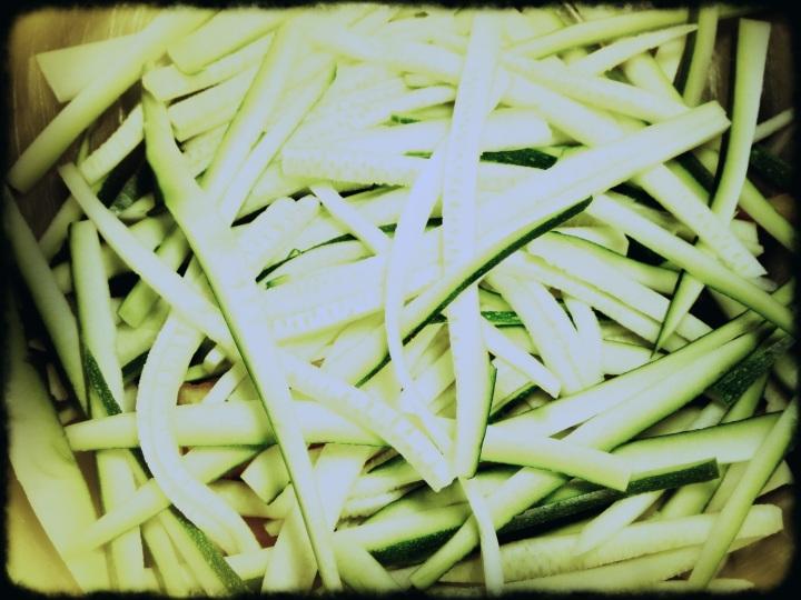 Zucchini Shredded