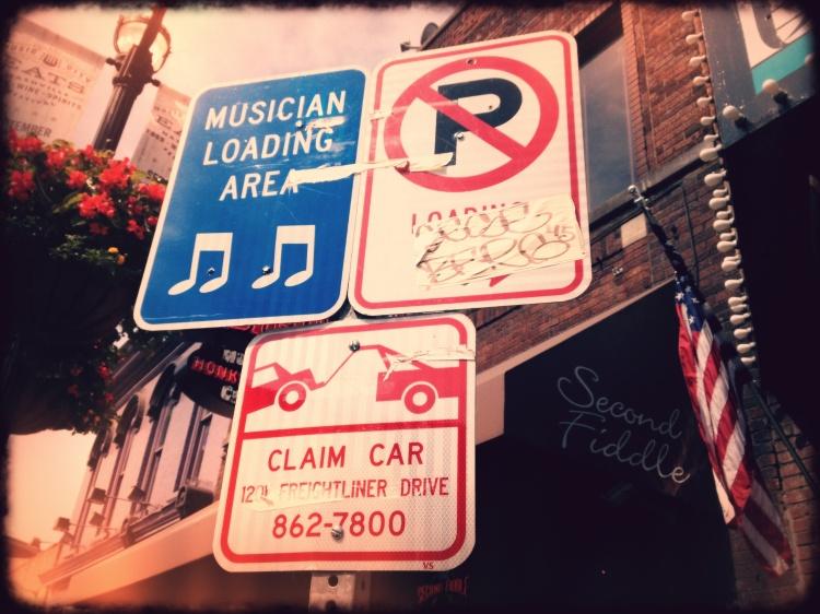 A Musicians Dream Sign